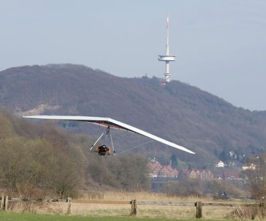 Landeanflug Sven Stieghorst